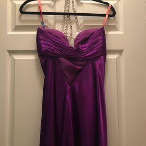 Violet Evening Gown
